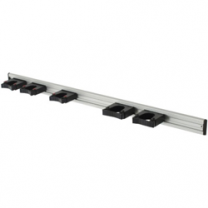 Rail 90 cm + 5 houders  stalapotheek.nl